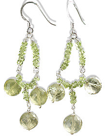 Prehnite Earrings 2