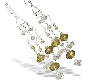 Chandelier Citrine Earrings 4
