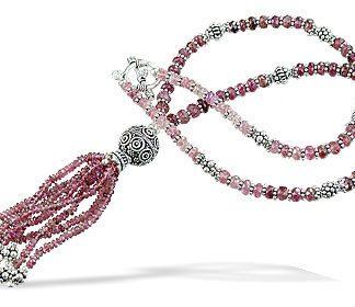 Tourmaline Tassel Necklace 2