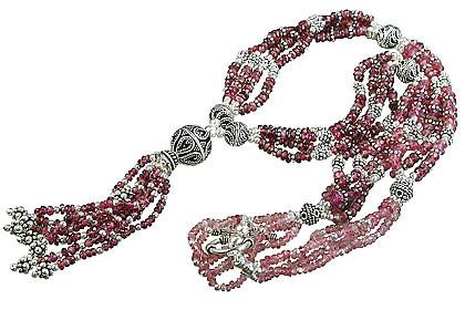 Tourmaline Tassel Necklace 3