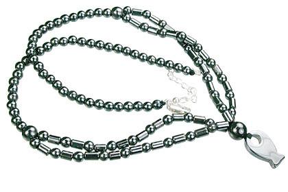 Charm Hematite Necklaces 2