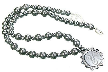 Charm Hematite Necklaces 4