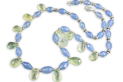 Chalcedony Necklaces 2
