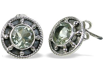 Green Amethyst Earrings 4