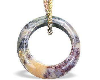 Jasper Ring Pendant