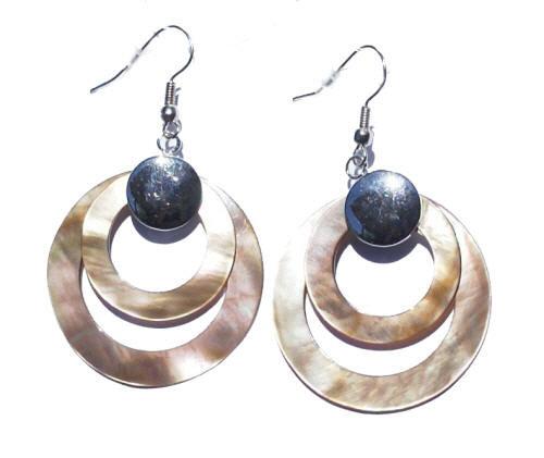 Mother-of-pearl Earrings 3