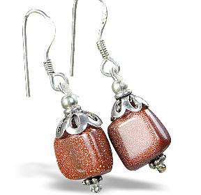 Sunstone Earrings 2