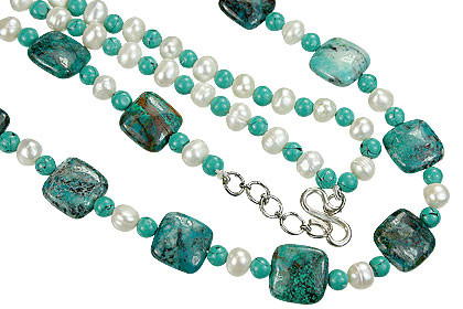 Chrysocolla Necklaces