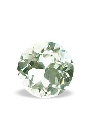 Green Amethyst Beaded Round Gems