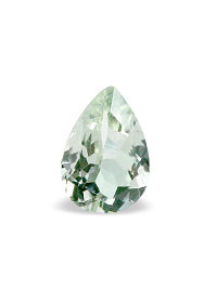 Green Amethyst Beaded Gems