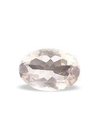 Pink Rose Quartz Beaded Oval Faceted Gems