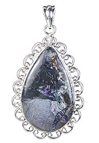 Drop Tiffany Stone Pendants 3