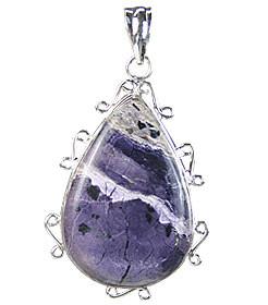 Tiffany Stone Drop Cabochon Pendant
