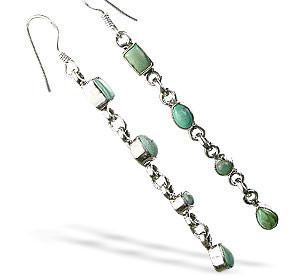 American-southwest Turquoise Earrings