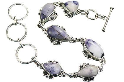 Art-deco Tiffany Stone Bracelets