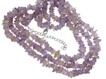 Chipped Amethyst Necklaces 3