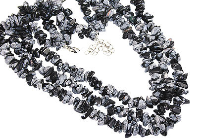 Chipped Obsidian Necklaces