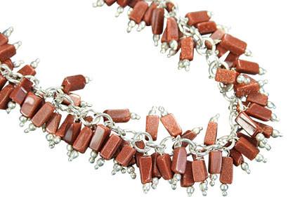 Clustered Sunstone Necklaces