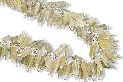 Clustered Fluorite Necklaces
