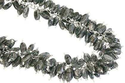 Black Tourmalated Quartz Necklace 8