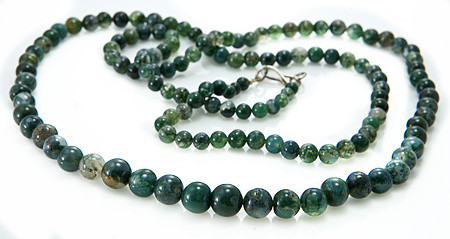 Moss Agate Necklaces 2