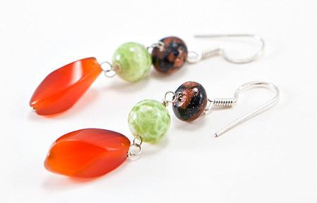 Carnelian Earrings 9