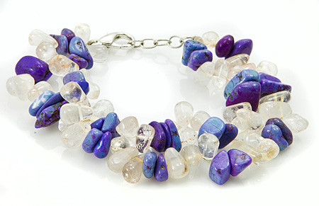 Multistrand Quartz Bracelets