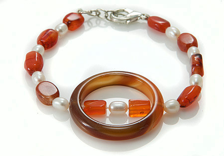 Contemporary Carnelian Bracelets 3