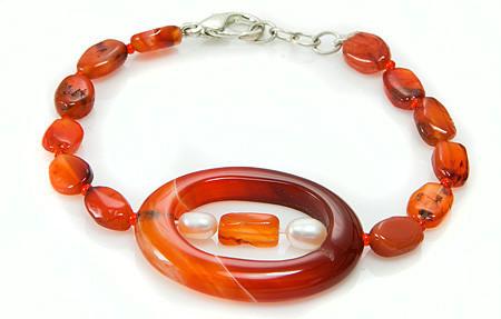 Contemporary Carnelian Bracelets 4