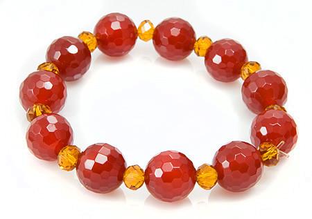 Stretch Carnelian Bracelets 4