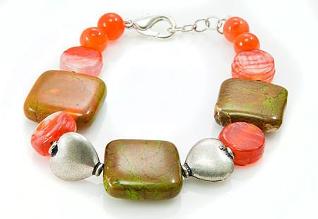Heart Mohave Bracelets