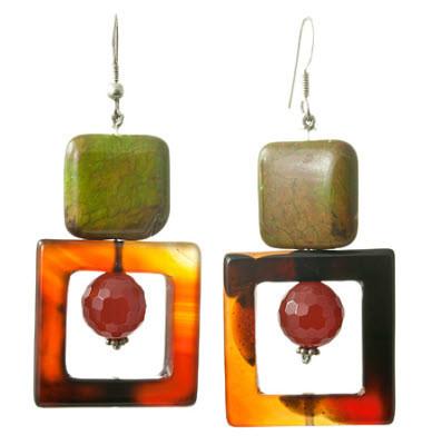 Carnelian Earrings 10