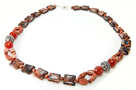 Contemporary Goldstone Necklaces