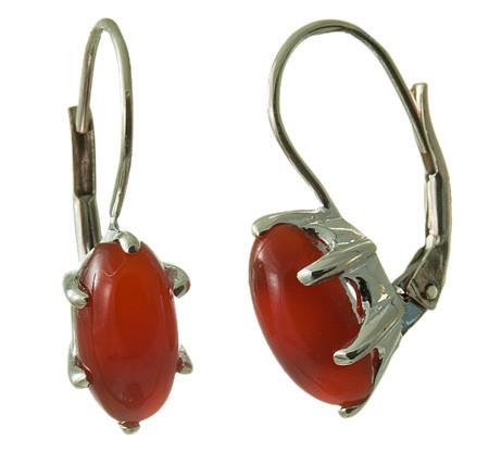 Classic Carnelian Earrings