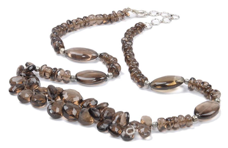Smoky Quartz Necklaces 7