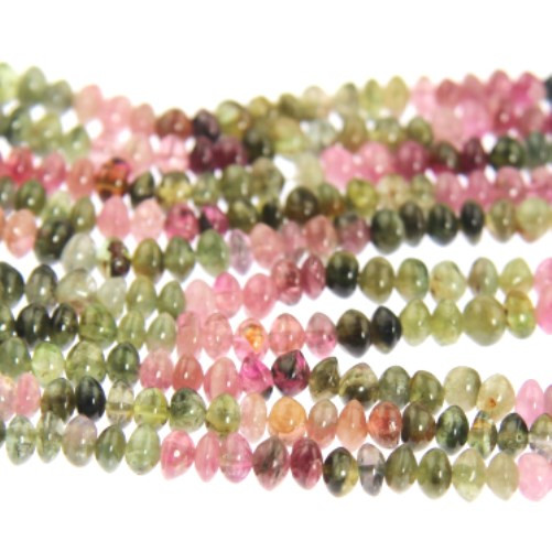 Tourmaline Multicolored Beads (4mm)