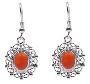 Carnelian Earrings 12
