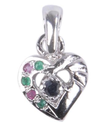 Heart Sapphire Pendants 3