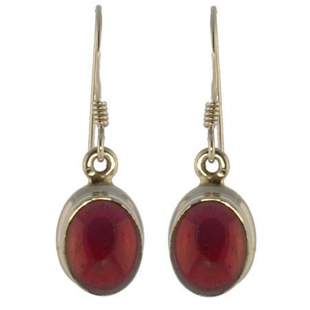 Classic Garnet Earrings