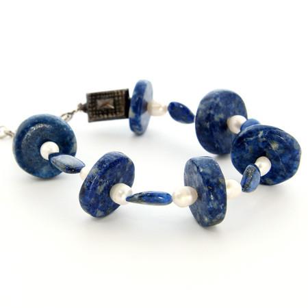 Contemporary Lapis Lazuli Bracelets