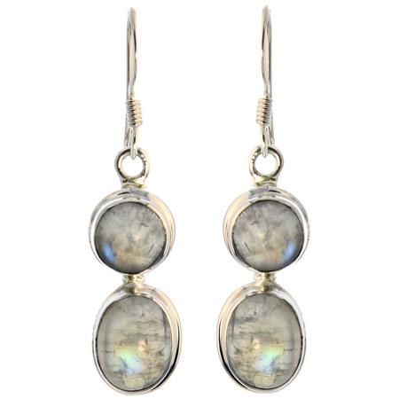 Contemporary Moonstone Earrings 4