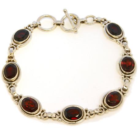 Estate Garnet Bracelets