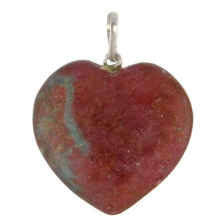 Zosite Heart Pendant