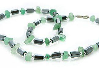 Hematite and Aventurine Necklace