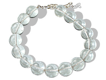 Clear Crystal Silver Setting Bracelets