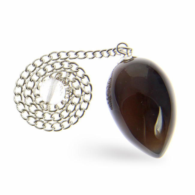 Brown Agate Silver Setting Healing
