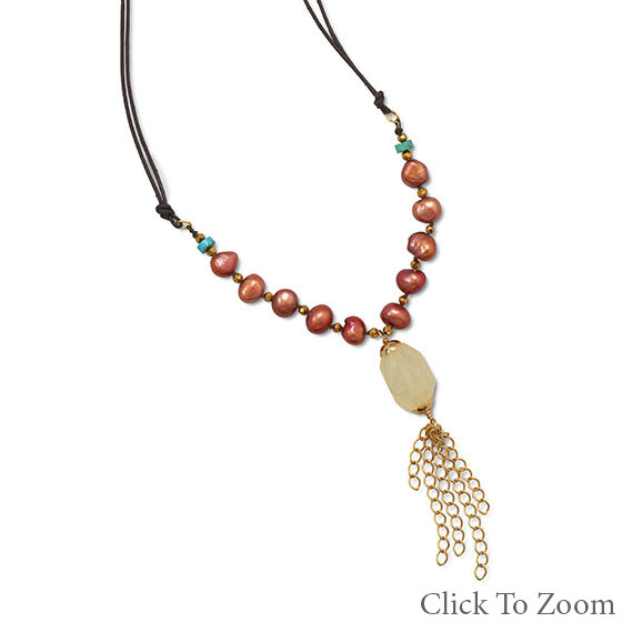 Multi-color Multi-stone Beaded Necklaces 22 Inches