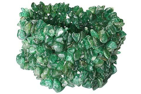Green Aventurine Beaded American-southwest Bracelets 7 Inches