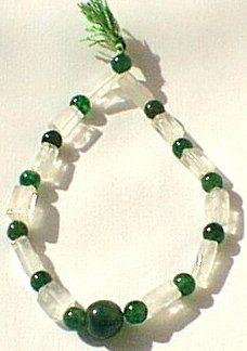 Green Aventurine Beaded Stretch Bracelets