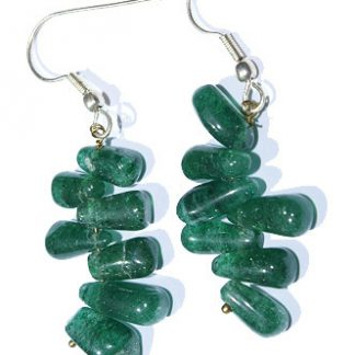 Drop Aventurine Earrings